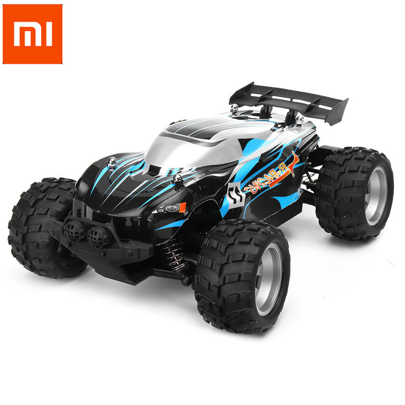 Xiaomi R-RACING RCSB-001 1/18 50km/h Racing RC Car RTF With Bluetooth Smart Phone With Light Toys Models For Birthday Gift цены онлайн