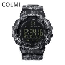 COLMI EX16C Camo Smartwatch 5 ATM Su keçirməyən Fəaliyyət İzləmə addımları Kalori məsafəsi Smart Watch Gözləmə 12 ay