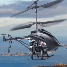Hot Newest  2.4G Hawk 3CH RC Helicopter with Camera & Gyro Udic U13A LED RC toy with 1G SD card VS S977/S988/S929/S215/S319/V911