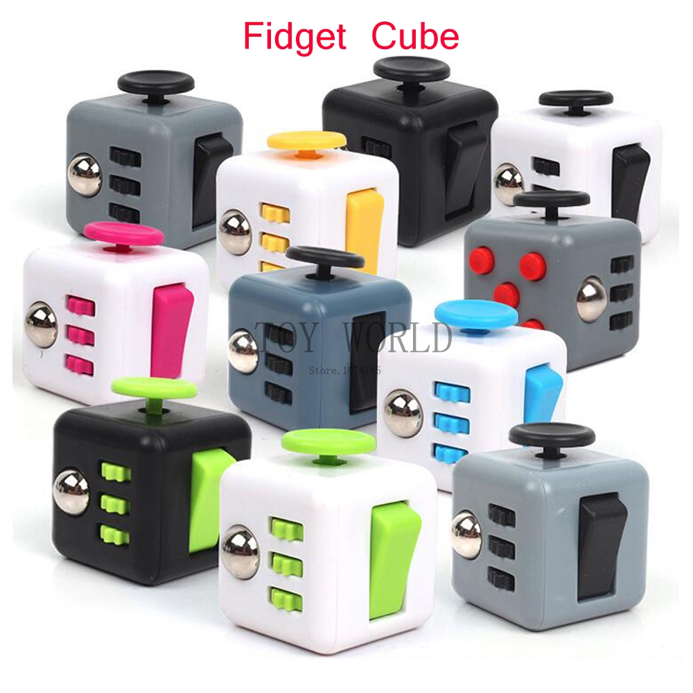 original fidget cube toys a vinyl desk kickstarter toys. Black Bedroom Furniture Sets. Home Design Ideas