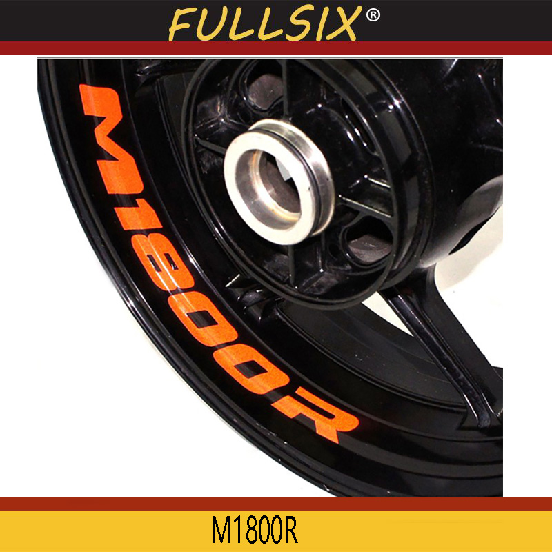 B m 1800 r 8 x SUZUKI M1800R INTRUDER WHEEL RIM STICKERS