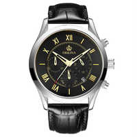 MG. ORKINA Quartz-watch Auto Date Stopwatch Japan Movement Stainless Steel Case 10ATM Water Resistant Male Quartz Wristwatch