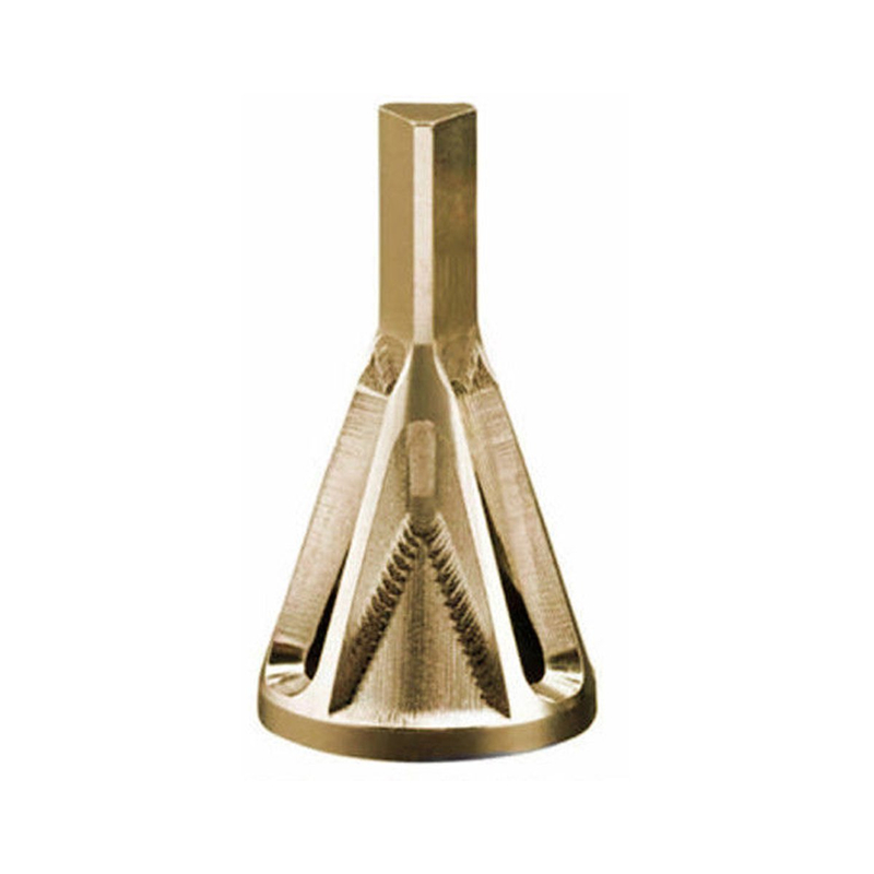 Titanium Coated Deburring External Chamfer Tool Bit 1/4 Inch Triangle /Hex Shank Remove Burr Tools Used For Electric Drills