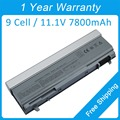 New 9 cell 7800mah laptop battery for dell Latitude E6400 E6410 ATG E8400 E6510 E6500 KY268 W0X4F 4N369 312-0215 R822G PT436