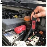 Универсальный В 5-48 в автомобильный ЖК-цифровой тестер напряжения метр ручка автомобильный Грузовик контур сканер питания зонд диагностический инструмент