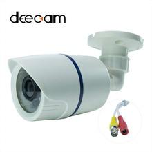 Deecam AHD CCTV HD Camera COMS Sensor 1200TVL HD Outdoor Bullet Waterproof IR-CUT 24 IR leds mini Surveillance Security Camera