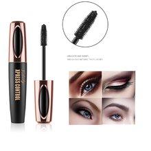 Vibely 4D Seda Fibra De Cílios Mascara Rimel Maquiagem Cílios Extensão Longa Secagem rápida À Prova D' Água Mascara Maquiagem Cosméticos TSLM2