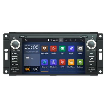 Android 7.1 Fit Jeep/wrangler/patriot/compass/journey CAR DVD PLAYER Multimedia Navigation DVD AUDIO STEREO NAVI RADIO WITH WIFI