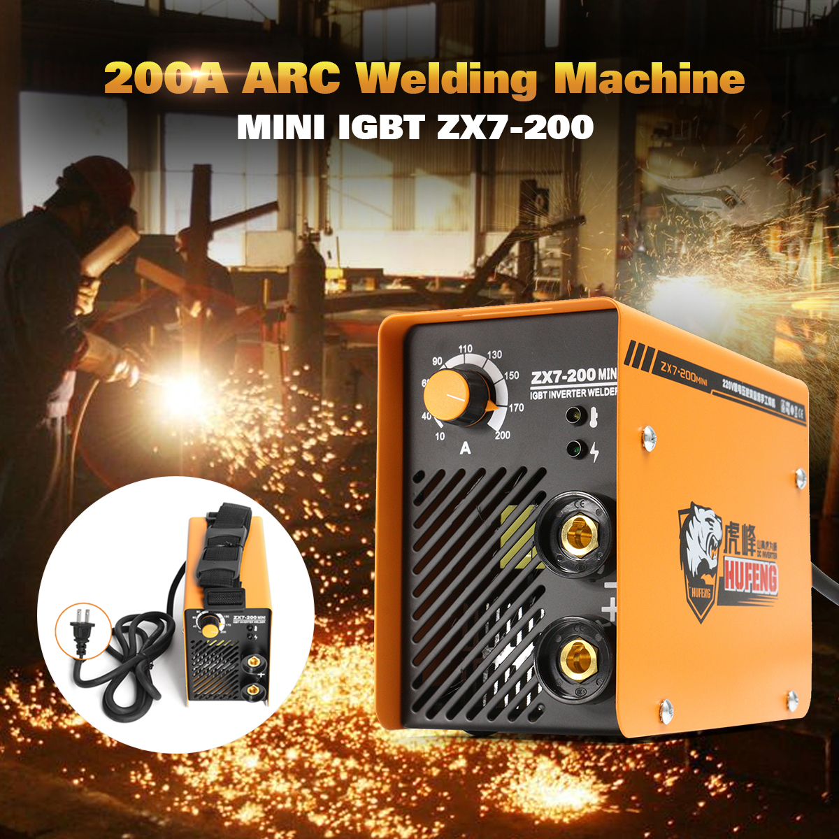 цена на 220V Portable MMA ARC Welding DC IGBT Welding Machine Soldering Inverter for Soldering and Electric Working