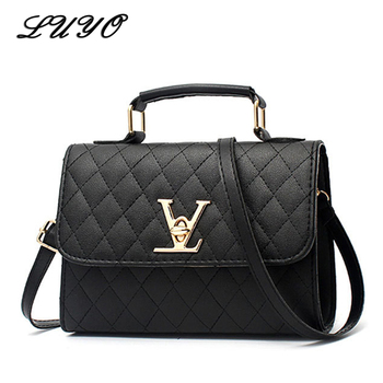 2020 Fashion Leather Small V Style Luxury Handbags Women Bags Designer Crossbody For Famous Brands Messenger Bags Louis Bolsa fashion women s bags famous brands soft cowhide genuine leather handbag women messenger shoulder bags luxury designer famous bag