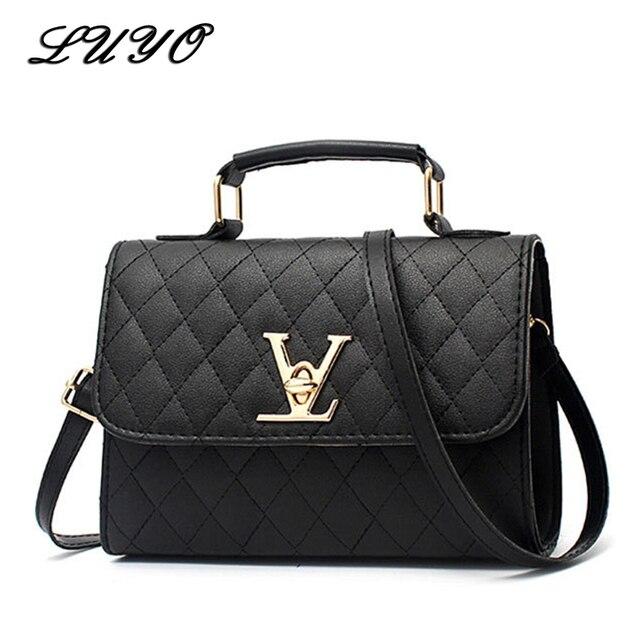 2020 mode cuir petit Style V de luxe sacs à main femmes sacs design bandoulière pour marques célèbres sacs de messager Louis Bolsa