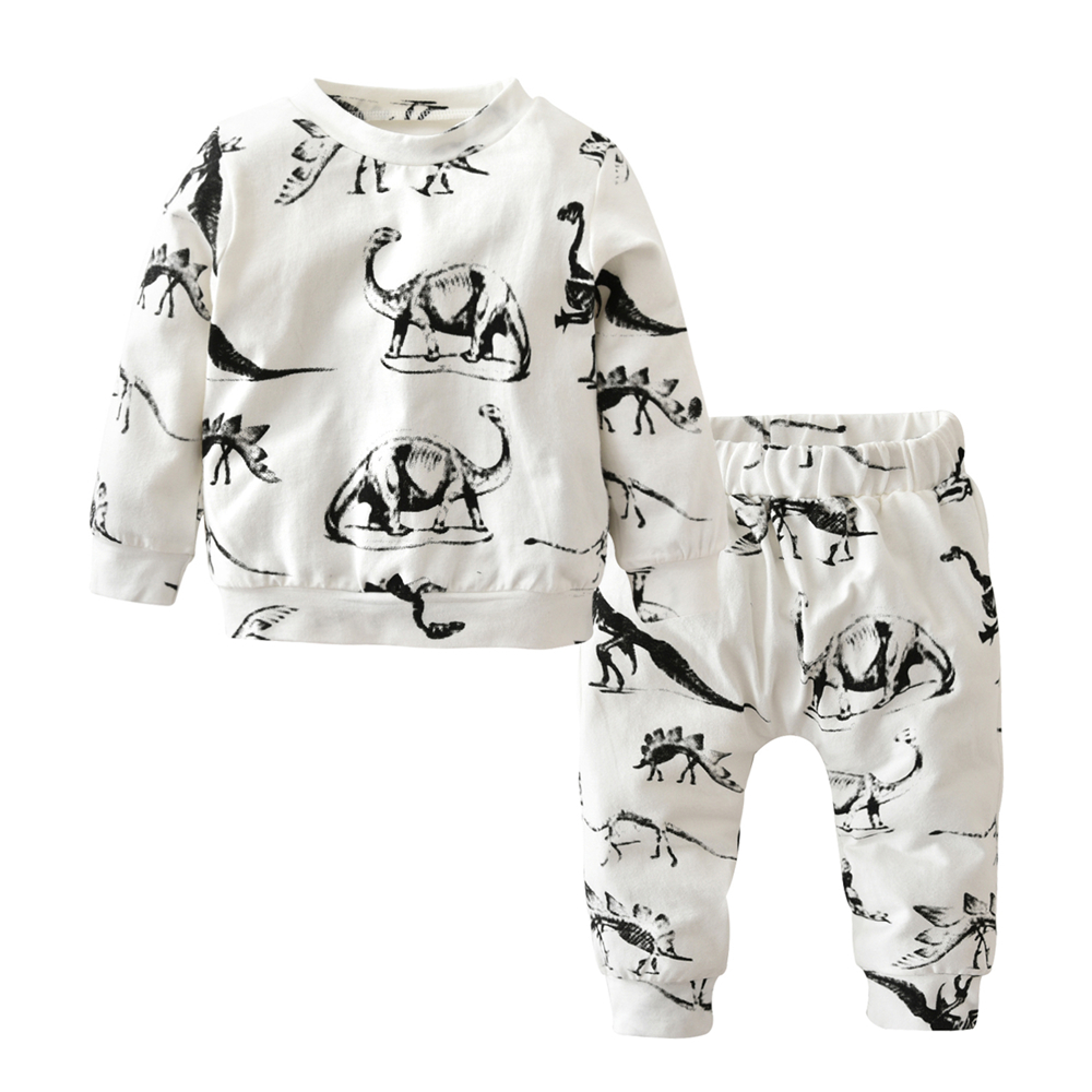Newborn Toddler Baby Girl Boy Outfits Dinosaur Print Clothes Hoodie Tops Pants. Brand New · Unbranded. $ Buy It Now. Free Shipping. 2PCS Kids Baby Boys Dinosaur Clothes Tops T Shirt Tee Pants Tracksuit Outfit Set. Brand New. $ to $ From China. Buy It Now. Free Shipping.