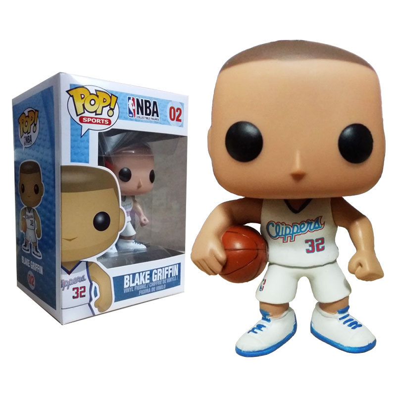 funko pop griffin  Funko POP Vinyl Figure Sports NBA Clippers Blake Griffin 02 IN STOCK ...