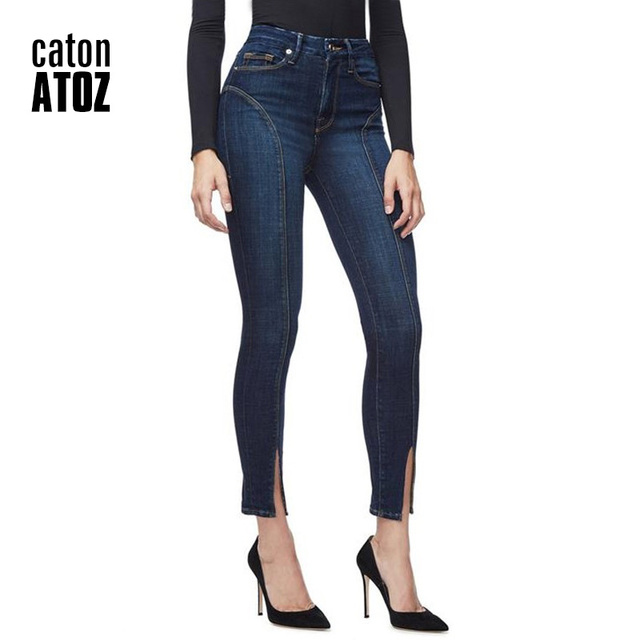Women Stretchy Pencil Denim Jeans
