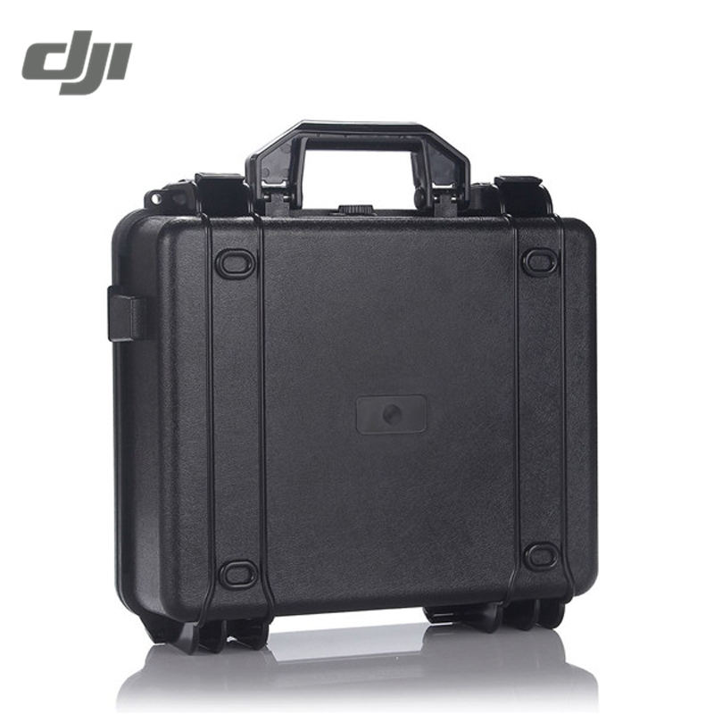 DJI Mavic RC Quadcopter FPV Spare Part Black Waterproof Transmitter Hard Shell Case Carrying Bag Suitcase Box Bag dji original brand new spare part body