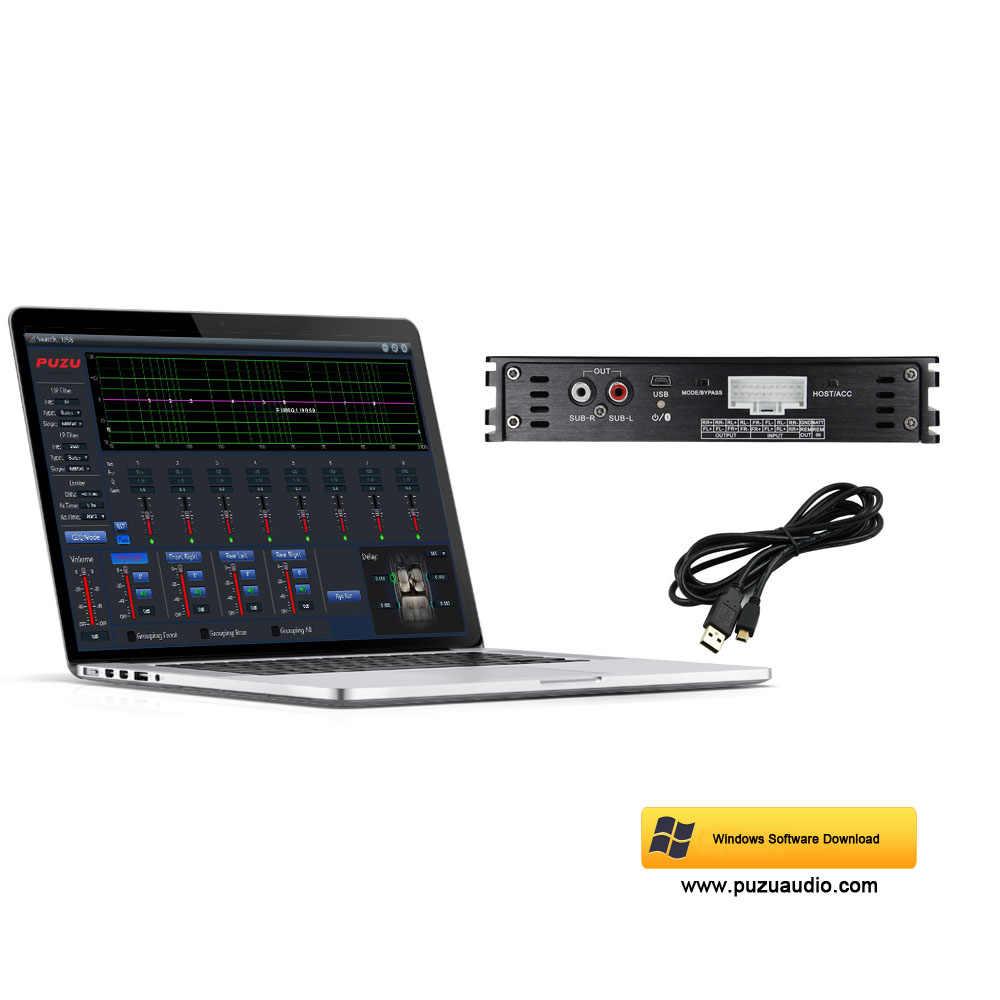 Автомобильный усилитель цифровой обработки сигналов поддержка неразрушающего аудио модификации автомобиля ПК 8 полос эквалайзер телефон 7 полос эквалайзер четырехъядерный 32 бит чип обработки