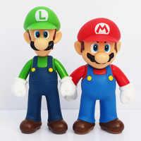 13cm PVC alta calidad Super Mario Bros figuras de acción de Luigi Youshi mario juguete de regalo