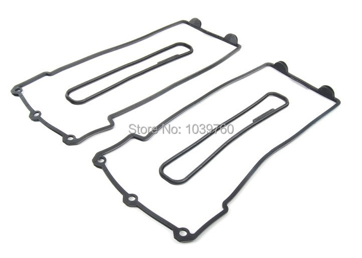 L+R Valve Cover Gasket for BMW E32 E34 E38 E39 530i 730i