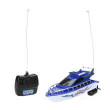 Kids RC Boat Super Mini Speed High Performance Remote Control Electric Boat Toy for Children Boys Birthday Gift