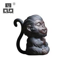 TANGPIN keramische thee huisdieren aap leuke porselein teapets kung fu thee accessoires(China)