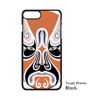 Chinese Art Makeup Paper Cut Art China New Year Beijing Opera Colorful Phone Case For IPhone