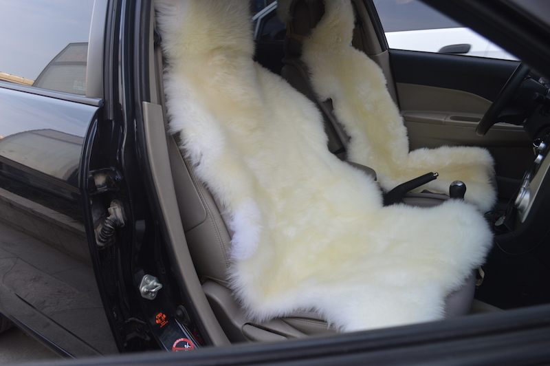 2 Piece Best Price New Style Sheepskin Car Seat Cover Plush Winter Cushion Four Seasons General In Automobiles Covers From