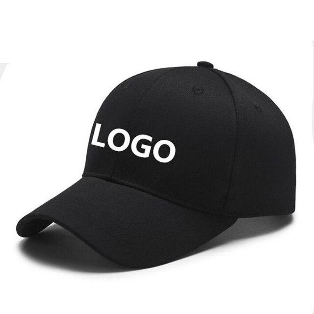 668ebb1fc2638 Custom LOGO baseball cap Wholesale DIY snapback hat for men and women  Casquette Gorras