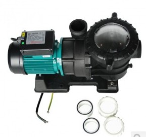 Swimming pool Pump STP150 1100W 1.5HP  plastic water pumps pool filter pump fish pond pump environmentally friendly pvc inflatable shell water floating row of a variety of swimming pearl shell swimming ring