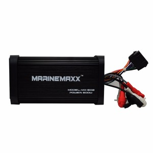 Image 4 - 500W 4 Kanäle Wasserdichte Marine Bluetooth Motorrad Verstärker Auto Stereo Audio Mit Controller Für Boot ATV UTV Golf Warenkorb