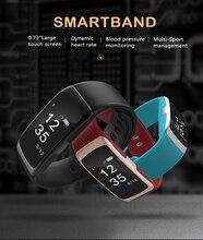 Одежда заплыва Водонепроницаемый Smart Band S68 Приборы для измерения артериального давления сердечного ритма браслет Спорт Фитнес трекер Шагомер Смарт Браслет VS D21