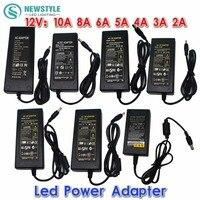 New 12V 24V 2A 3A 4A 5V 6A 8A 10A AC 100V 240V Converter Adapter Power