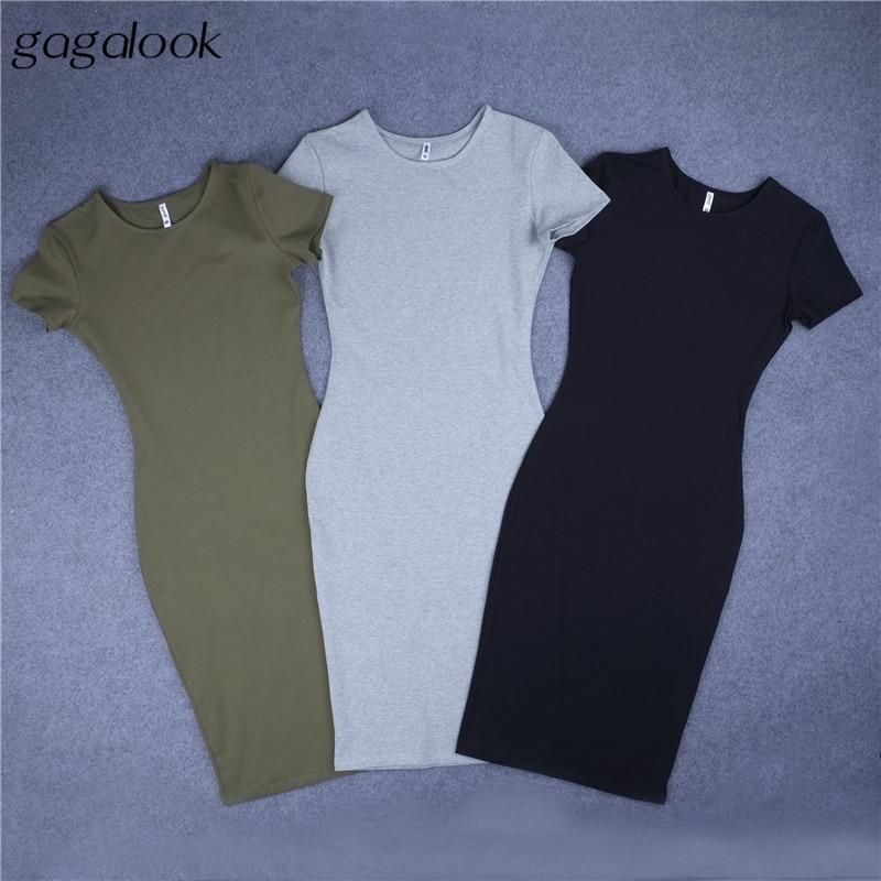 2c6612f3a852 gagalook Bodycon Winter Dress Women Office Work Long Sleeve Sexy Black Midi  Dress Robe D0746-in Dresses from Women's Clothing on Aliexpress.com    Alibaba ...