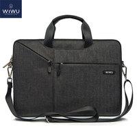 WiWU Laptop Messenger Bag 13.3 14.1 15.4 15.6 17.3 Waterproof Nylon Notebook Bag for Dell 14 Laptop Bag for Macbook Pro 13 Case