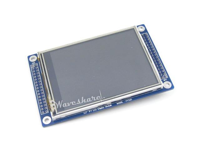 3.2 polegada 320*240 Módulo de Display LCD Multicolor Gráfico XPT2046 Touch Screen com Controladores de Stand-alone
