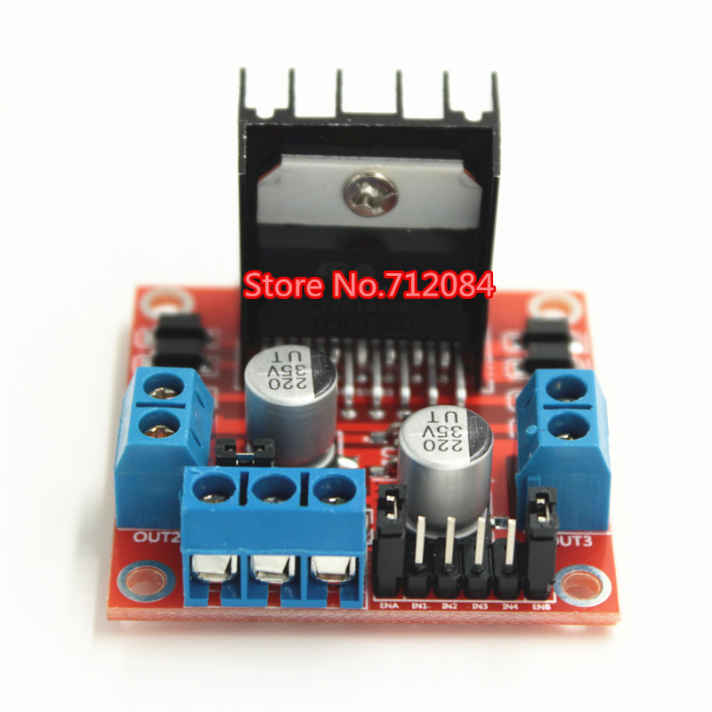 L298N motor driver board module L298 for arduino stepper motor smart car robor 5v stepper motor 28byj 48 uln2003 driver test module for arduino