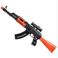 2018 Soft bullet water paintball toy gun rifle real cs fight gun simulation toy sniper rifle air soft gun kids toys gifts