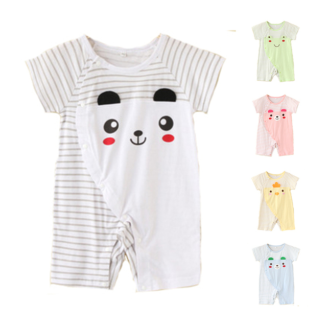 06cba54eb653 Toddle Baby Romper Body Suits Clothes Cotton Short Sleeve 3 size ...