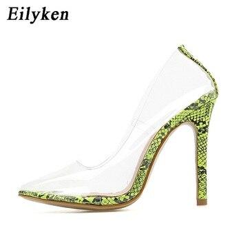 Διαφανείς γόβες στιλέτο Γόβες Παπούτσια MSOW