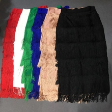 Newest Women 2019 Red White Green Blue Pink Black Solid Fashion Sexy Bandage Skirts