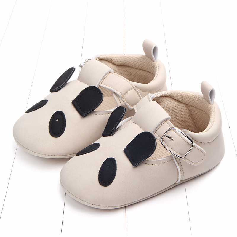 Baby First Walkers Matte leather Shoes for Baby Girl Boy Cartoon Animal Newborn Slippers Footwear Booties Kids Gift Child Shoes (40)