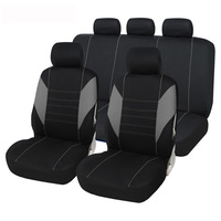 AUTOYOUTH Car Seat Cover Polyester Universal Automobile Seat Cover Full Set For Car Seat Protector Auto