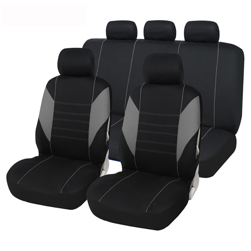 AUTOYOUTH Siège D'auto Couverture Polyester Universel Automobile Housse de Siège Ensemble Complet Pour Protecteur De Siège De Voiture Accessoires Auto Voiture Style