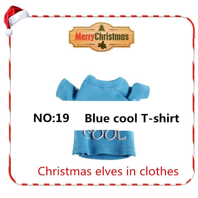 Christmas Doll Elf Hobbies Stuffed Toys Accessories On Dolls Girl Gift SkirtThe Shelf Toys for Children