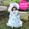 41 Cm Ceramic Home Decoration Doll Gift Collection Crafts  Gifts Porcelain Doll Home Decoration Christmas Gifts