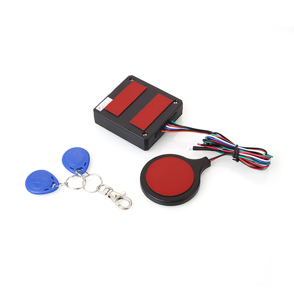 Voiture D'alarme De Voiture Auto Bouton RFID Antivol de Sécurité Entrée Démarrage Anti-Vol Moteur Alarme Accessoires