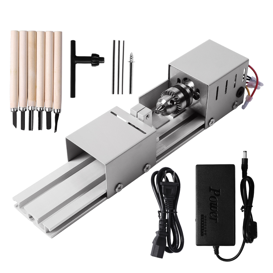 Mini Lathe Beads Machine Wood Working DIY Lathe Polishing Drill Rotary Tool For Bead Polishing machine tool