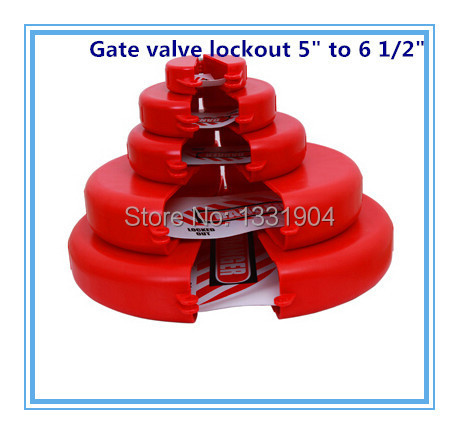 ФОТО Good quality free shipping gate valve lockout  for  5