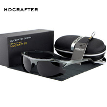 HDCRAFTER Hot Sale Polarized Sunglasses Men Outdoor Sport Sun Glasses For Driving Fishing Golfing Gafas De Sol Hipster Essential