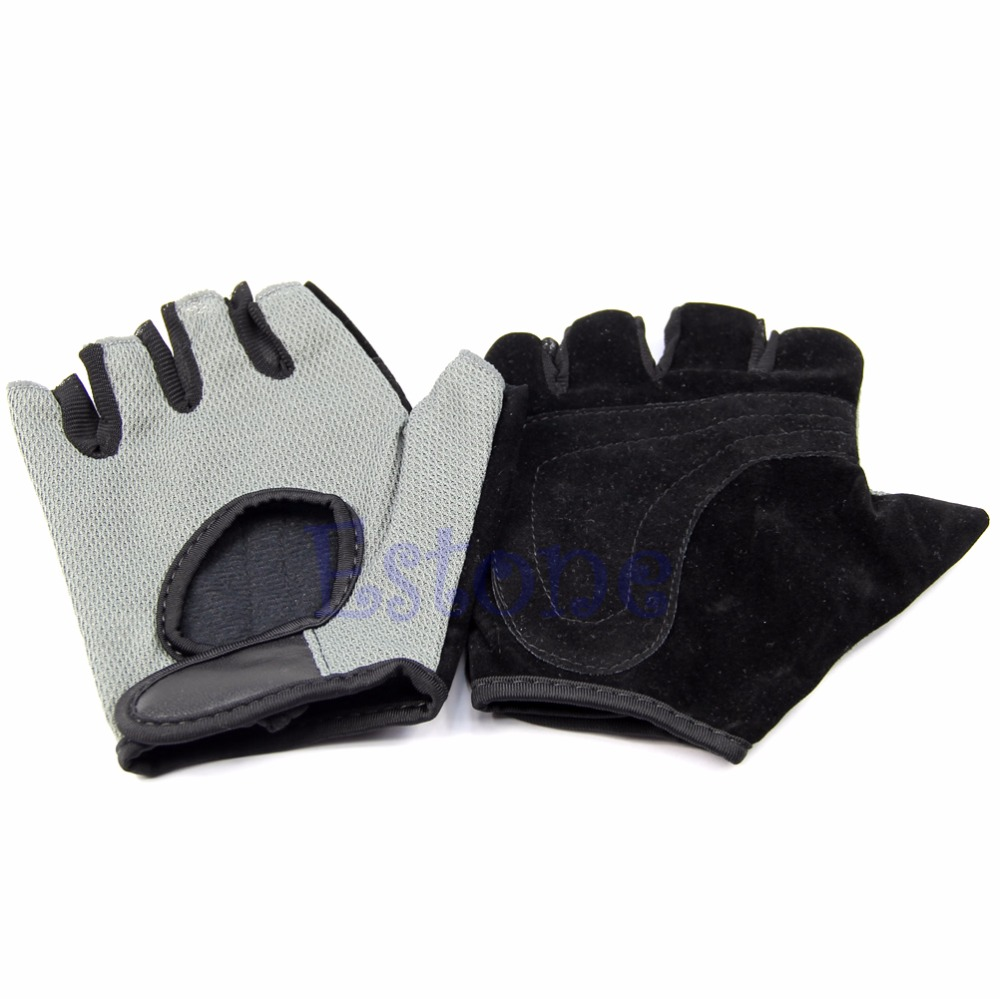 Mesh Weight Lifting Gloves: Lifting Gloves Sports Mesh Half Finger Gloves Weight