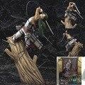 25 см атаки на титане Shingeki нет Kyojin rivaille фигурку конструкторы куклы аниме мультфильм рождественский подарок бесплатная доставка